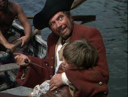 good books treasure island by robert louis stevenson good movies robert newton and bobby driscoll on the way to the island before jim gets away