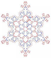 Crochet Snowflake Pattern Chart Crochet Snowflake Chart Crochet Snowflake Pattern