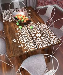 image stencils furniture painting. mandala style stencil furniture wall painting stencils by stencilslabny on etsy https image s