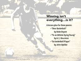 winning isn t everything or is it a thematic poetry unit by winning isn t everything or is it a thematic poetry unit