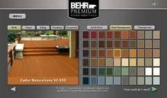 Behr Semi Transparent Wood Stain Color Chart Behr Introduces New Exterior Wood Care Center