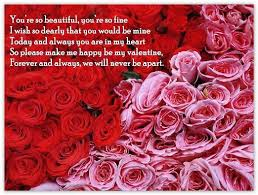 Beautiful Valentines Day Quotes Best of My Coolest Quotes Be My Valentine Quote You Are So Beautiful You