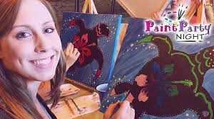 1 two hour painting party admission e ticket