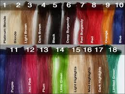 Hair Highlights Color Chart Alexandraindries Com