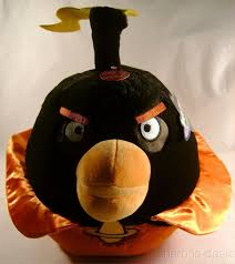 Angry Bird Space Plush Bomb Black 12 Sound Rovio Entertainment Doll Toy  License - Angry Bird Gifts #angrybird #angrybirds - Angr… | Bird gifts, Angry  birds, Birds
