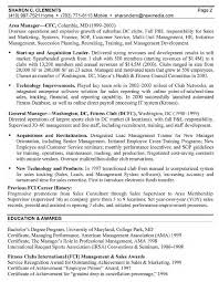 General Manager Resume General Manager Resume Sample
