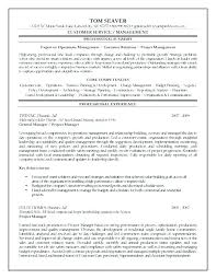 Resume Objective For Project Manager Nfcnbarroom Com