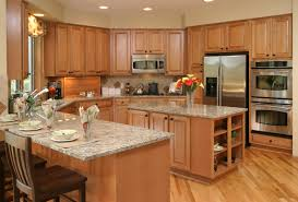 flooring ideas for kitchen with oak cabinets awesome 52 enticing kitchens with light and honey wood