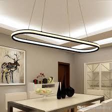 double glow hanging light aluminum modern led chandeliers led pendant lighting fixtures living dining kitchen room high brightness kitchen pendant lights