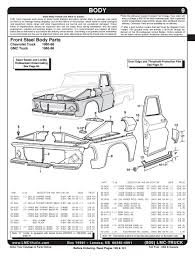 1960-1966 Chevy/GMC Pickup Truck Specs & Engine/Trans/Axle ID's ...