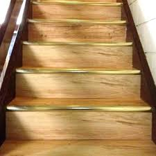 can allure flooring be installed on stairs installing vinyl plank laying on stairs with white risers