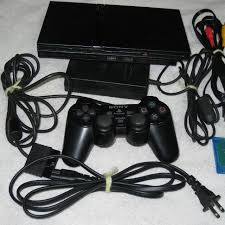 sony playstation 2 slim. sony playstation 2 - slim scph-77001 like new! sony playstation slim