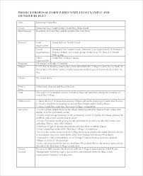 Ministry Proposal Template Church Project Proposal Template