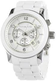 men s stainless steel quartz chronograph white dial watch men s stainless steel quartz chronograph white dial watch michael kors watches amazon