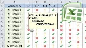 Como Hacer Una Lista De Asistencia En Excel