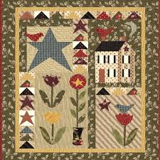 328 best Quilts ~ Small Wall Hangings images on Pinterest ... & Spring Has Sprung Wallhanging Quilt Kit designed by Jan Patek. Adamdwight.com
