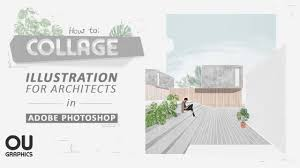Architecture Design Photoshop How To Collage In Architecture Using Photoshop