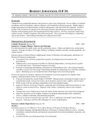 Resume Of A Science Teacher High School Science Teacher Resumes