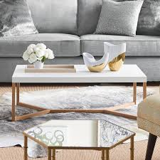 51 white coffee tables to refresh your