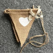 2019 string vintage jute hessian burlap bunting flags and banner linen flags wedding decoration party diy supplies flagsfrom knowdo 3 67 dhgate com