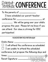 parent teacher conference letters 230 best parent teacher conferences images back to school night