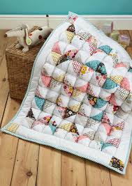 Issue 9 on sale now! - Love Patchwork & Quilting & Puffy baby quilt by Heidi Ferguson for issue 9 of Love Patchwork & Quilting  magazine Adamdwight.com