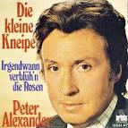 Bildergebnis f?r Album Peter Alexander Die Kleine Kneipe