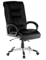 leather office chairs on sale. Executive Leather Ergonomic Office Chair In All Black With Chrome Base Star Chairs On Sale