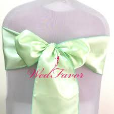 mint green chair covers mint green chair cover satin sashes satin chair bow ties for banquet