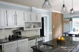paint kitchen cabinetsHows It Holding Up DIY Painted Kitchen Cabinets Update