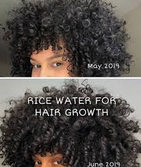 is rice water the secret to stop shedding