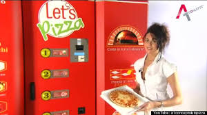 Canadian Vending Machines In Europe Amazing Pizza Vending Machine Europe's 'Let's Pizza' Plans US Launch