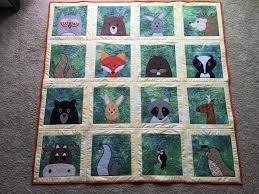 Animal Quilt Patterns Adorable Applique Quilt Patterns Animal Baby Quilt Applique Quilt