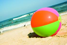 Impressive Beach Ball In Ocean A Splash City Planning Water To Decorating Ideas