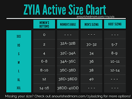 Zyia Size Chart Introducing Zyia Active Boys Training Joggers Direct