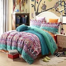 boho sheet set bohemian comforter comforters full size bed set best bedding with style sets designs