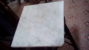 13 x 14 75 white marble table top