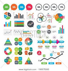 Business Charts Growth Graph Sale Discount Icons Special