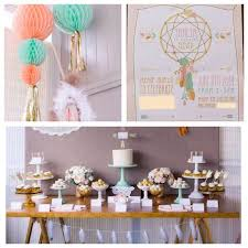 Dream Catcher Baby Shower Decorations Beauteous Simple Decoration Tribal Baby Shower Ideas Aztec Birthday Party By