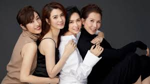 Ada Choi, Athena Chu, Catherine Hung And Monica Chan Just Formed A Group  And They're Calling Themselves 'F4' - TODAY