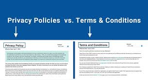 Privacy Policies vs. Terms & Conditions - TermsFeed