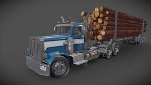 The three main classifications for road truck by weight are light trucks, medium trucks, and heavy trucks. Truck Trailer A 3d Model Collection By Shubbak3d Shubbak3d Sketchfab