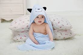 Biubee Extra Soft and Thick Baby Organic Hooded Towel ...
