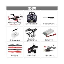 Rc Helicopter Size Chart Syma Official X56w Rc Drone Folding Quadrocopter With Wifi