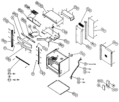 cps130 oven cabinet parts diagram