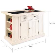 full size of nantucket distressed white finish kitchen island by home styles board with drop leaf