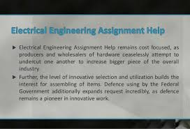 electrical engineering assignment help solutions through assignments  2