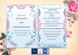 Wedding Invitation Design Elegant