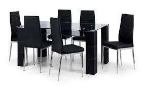 white round high and dining black modern extendable extending grey set chairs gloss table rooms good