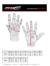 Five Gloves Size Chart Five Rs3 Replica Gloves Ladies 3882012310103